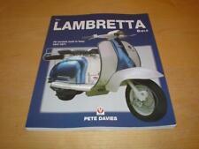LAMBRETTA BIBLE Li 125 150 Tv 175 200 SERIES 1 2 3 SX J Owners Manual Handbook
