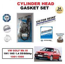 VICTOR REINZ SET JUNTAS DE CULATA PARA VW GOLF Mk III 1h1 1h5 1.4 55/60 BHP