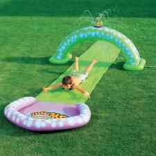 Gazillion Race Rider Slip N Slide with Bubble Sprinkler
