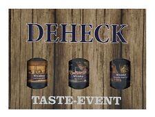 Deheck Whisky Tasting- und Geschenkset (3 x 0,04l)