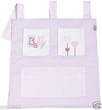 Vide Poches Rangement en tissu joli et pratique pour Lit Bébé