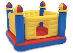 Intex Playhouse Jump-O-Lene Bouncy Castle Bouncer Kids Inflatable Play House