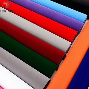 Self-adhesive Velvet Flock Liner Jewelry Contact Paper Craft Fabric MultiColor