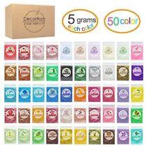 Mica Powder Pigments 4 Bags Per Lot 20g Total - Sample Lot Makeup Resin Jewelry