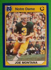 1990 Collegiate Collection #40 Joe Montana Notre Dame/49ERS football card NM/MT
