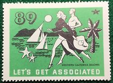 #89 Southern California Beaches - Let's Get Associated Flying A Gas & Oil Co.