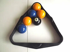 """POOL TABLES Super League TRIANGLE FOR 2"""" - Uk - Standard Size English POOL BALLS"""
