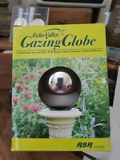 Echo Valley Mirror Ball Stainless Polished Gazing Garden Globe Silver- 4 inch