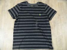 POLO RALPH LAUREN  grau schwarz gestreiftes Shirt f. Jungen Gr. XL NEU TOP 418