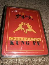 Playing Cards Deck Karate Chinese Shao Lin Kung Fu Movie Scene Photo Star Jet
