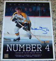 SALE! Bobby Orr #4 Signed Autographed 11x14 Photo Great North Road GNR Orr COA!