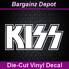 .. Vinyl Decal ... KISS .. Band Car Laptop Sticker Vinyl Decal