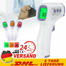 Digital Fieberthermometer Infrarot Stirn Thermometer Kontaktlos Baby Erwachsene