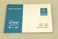Betriebsanleitung Mercedes Benz T1 Transporter 207, 307, 407 D  409 D von 1981