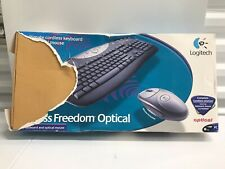 LOGITECH Cordless Freedom Optical Wireless Keyboard And Mouse