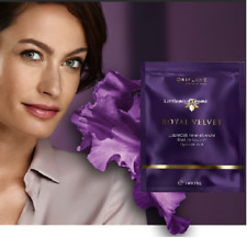 ORIFLAME ROYAL VELVET LUXURIOUS FIRMING MASK face wrinkles Hyaluronic Acid iris