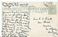 Genealogy Postcard - Family History - Smith - Near Alfreton, Derbyshire   BT853