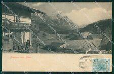 Belluno Cortina d'Ampezzo Mone Antelao cartolina QT3758