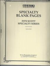Pkg. of 20 Scott ACC110 Specialty Blank Pages
