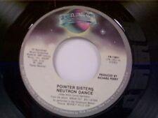 "POINTER SISTERS ""NEUTRON DANCE / TELEGRAPH YOUR LOVE"" 45"