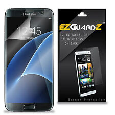 EZGuardZ Clear [FULL COVER] Screen Protector Shield For Samsung Galaxy S7 EDGE