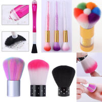 Nail Powder Cleaner  UV Gel Remover Nail Brush Tools Dust Dirt Cleaning