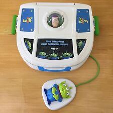 2010 VTech Toy Story 3 Buzz Lightyear Star Command Laptop Learning System