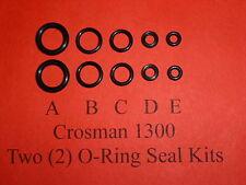 Crosman 1300 Air Pistol Two (2) O-Ring Seal Kits