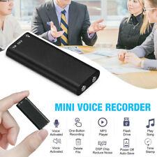 Hidden Mini Audio Recorder Voice Listening Device 96 Hours 8GB Bug Recording pf