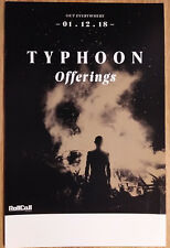 Music Poster Promo Typhoon Offerings