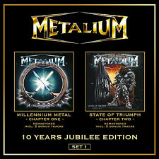 METALIUM - Millennium Metal & State of Triumph - 2CD - 200626
