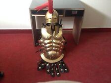 Muscle Armour Suit & Helmet Greek Suit of Armor 15th Century Combat  Armours