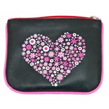 Leather Pinky Heart Coin Purse