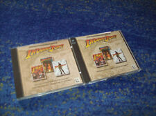 PC LucasArts Indiana Jones 3 + 4 + 5 tedesco culto ADVENTURE KIT TOP