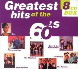 Greatest Hits of the 60's (144 tracks, 8CD-Box) Gerry & The Pacemake.. [xCD-Set]