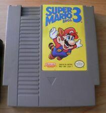 Nintendo NES 1985 SUPER MARIO BROS 3 w/ Dust Sleeve