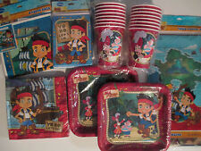 JAKE & THE NEVER LAND PIRATES Disney  Birthday Party Supply Pack DELUXE Kit !!