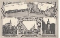 WALLSEE a.d.Donau (NÖ) - Mehrbilderkarte gel.1921, sehr gute Erhaltung ...