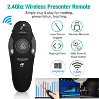 2.4GHz Wireless Presenter Pen for Meeting PowerPoint Presentation Remote Clicker