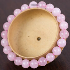Natural Gemstone 8mm Beaded Love Stone Rose Quartz Bracelet
