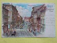 Straßenbahn Ansichtskarten aus Brandenburg