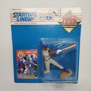 Sammy Sosa 1995 Starting Lineup MLB Baseball Chicago Cubs Vtg Sealed on Card
