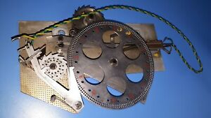 RFT Signalrad Signalwerk Signaleinrichtung Hauptuhr Mutteruhr Sekundenpendeluhr