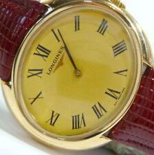 Relojes de pulsera Longines de cuero para mujer