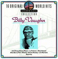 (CD) Billy Vaughn 16 Original World Hits - Golden Gate Collection - Wheels, u.a.
