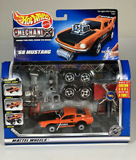 Mattel HOTWHEELS Mechanix Transformable Vehicle '68 Mustang Die cast Car New