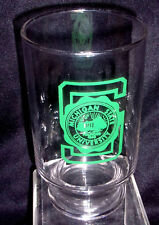 Michigan State Logo Glass Container