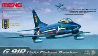 Meng Model 1/72 DS-004 Fiat G.91R Light Fighter-Bomber Kit