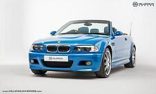BMW E46 M3 CAB // Laguna Seca Blue // 2003