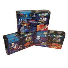 Lot of 3 Star Wars Micro Machines Transforming Action Sets NIB Galoob Jabba R2D2